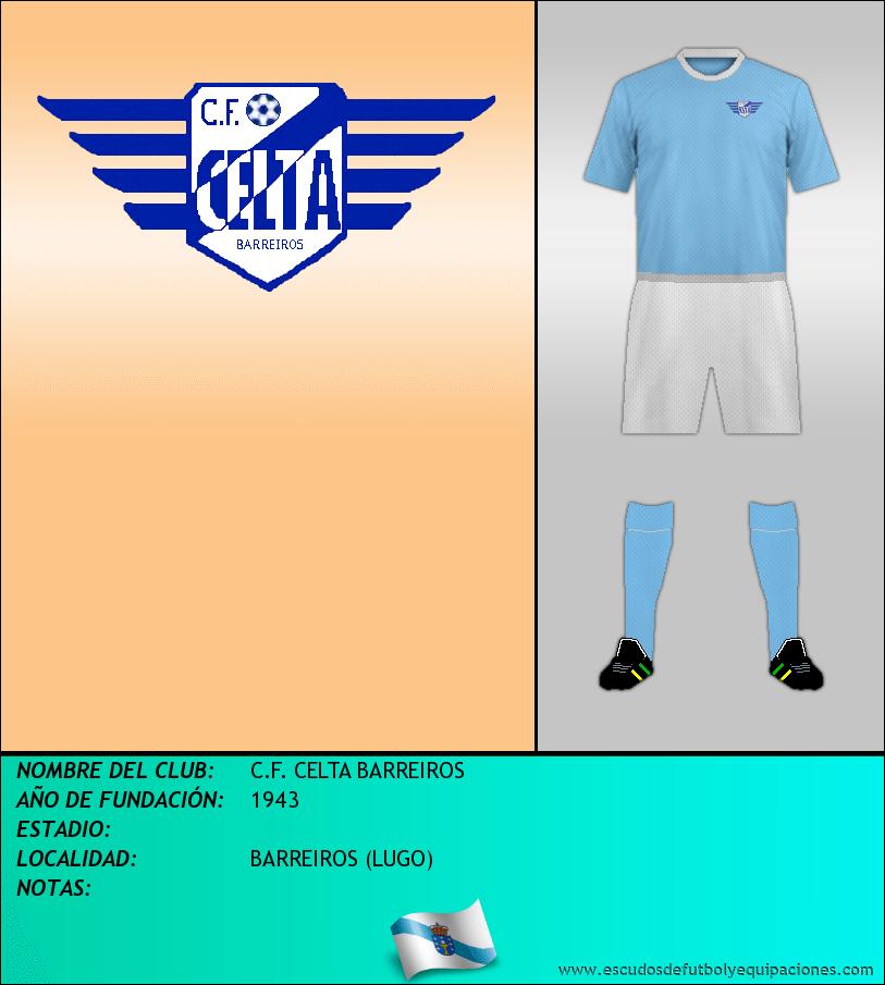 Escudo de C.F. CELTA BARREIROS