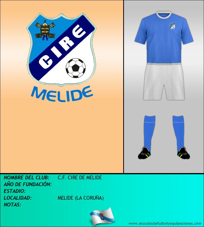 Escudo de C.F. CIRE DE MELIDE