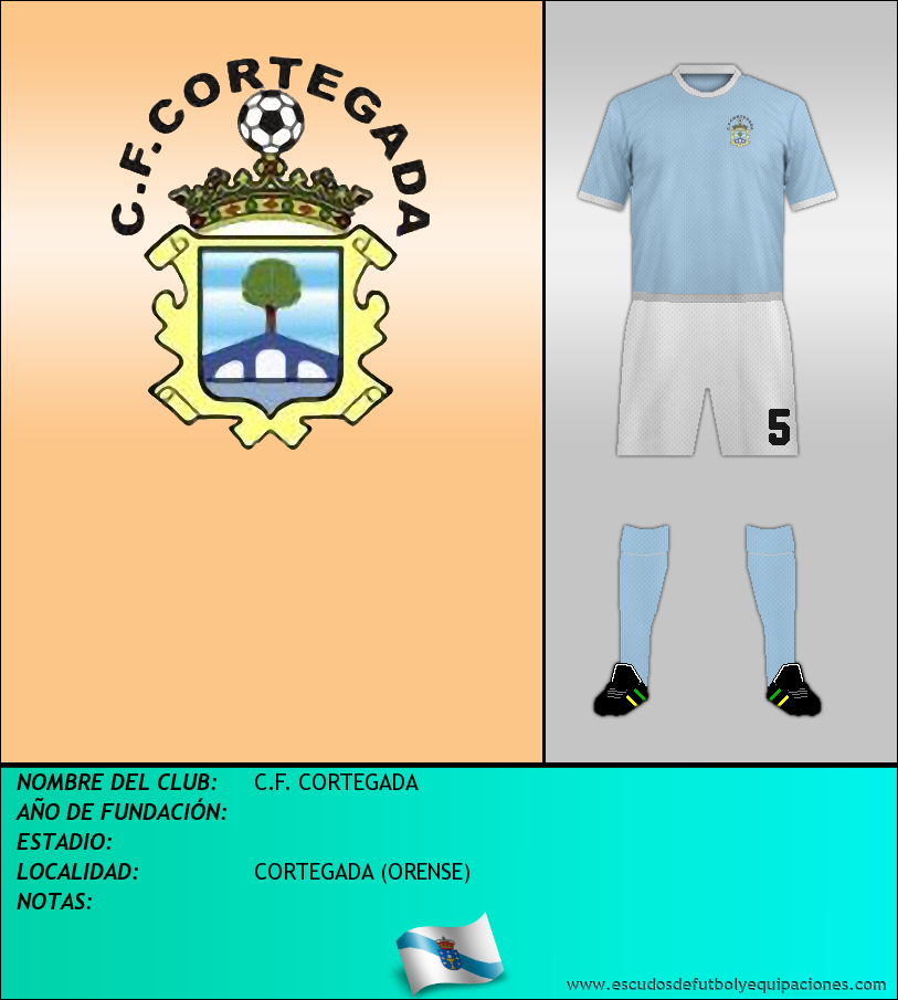Escudo de C.F. CORTEGADA