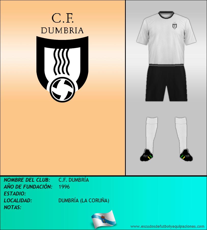 Escudo de C.F. DUMBRÍA