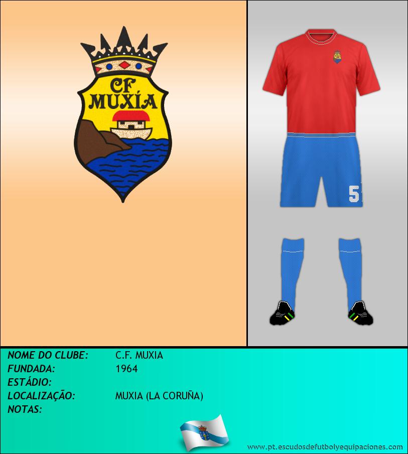 Escudo de C.F. MUXIA