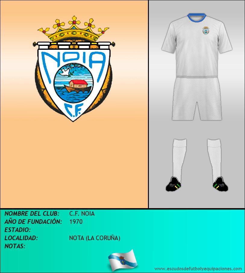 Escudo de C.F. NOIA
