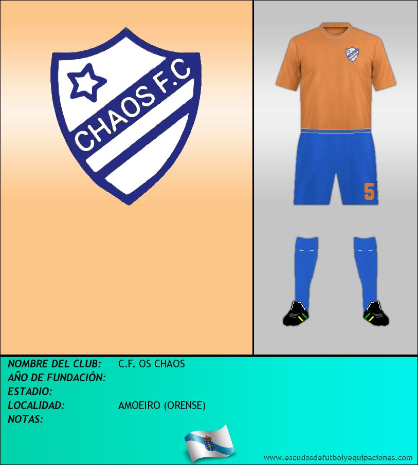 Escudo de C.F. OS CHAOS