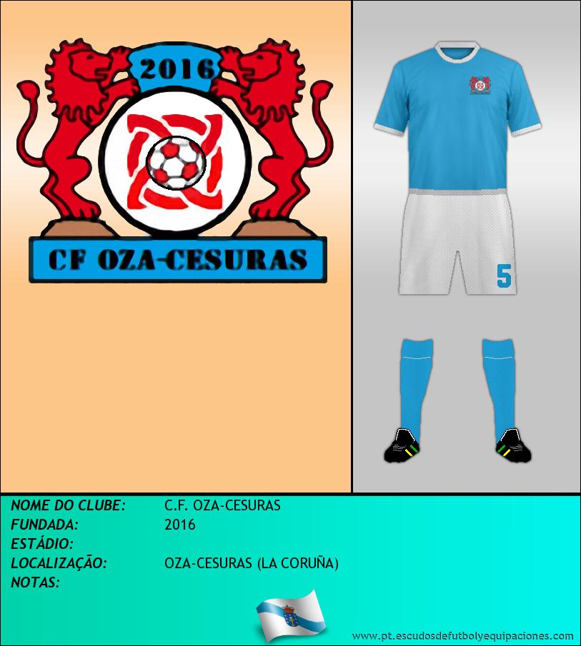 Escudo de C.F. OZA-CESURAS