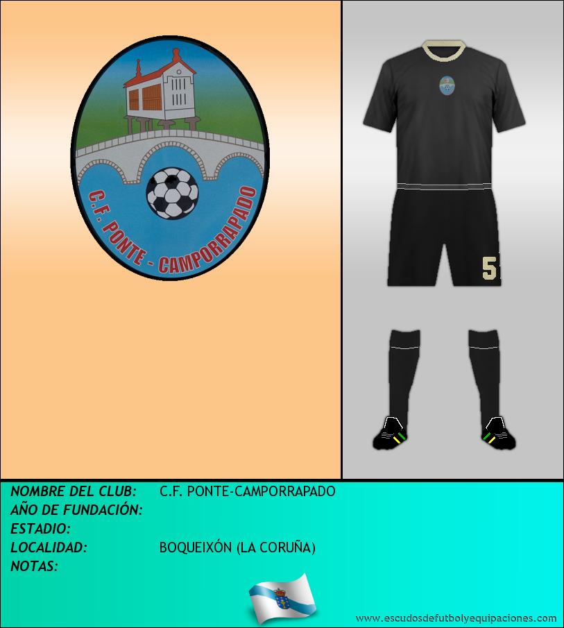 Escudo de C.F. PONTE-CAMPORRAPADO