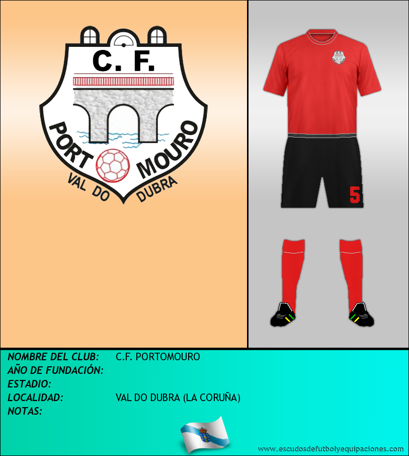 Escudo de C.F. PORTOMOURO
