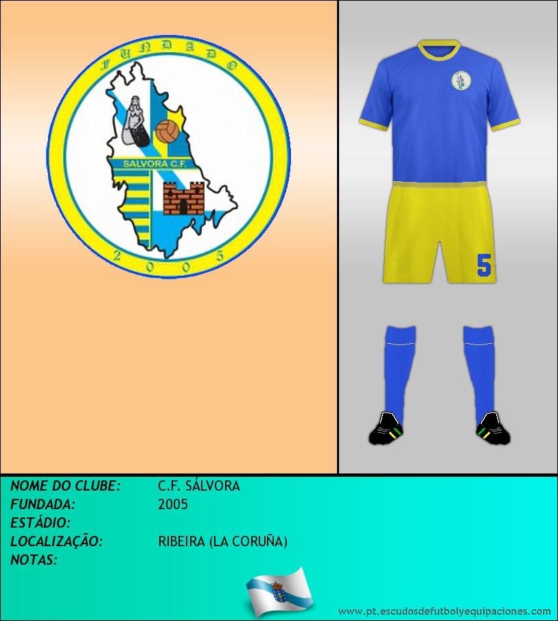 Escudo de C.F. SÁLVORA