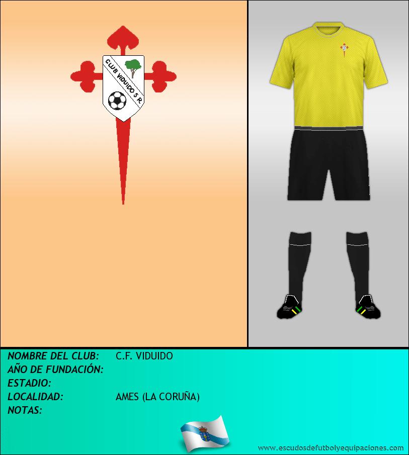 Escudo de C.F. VIDUIDO
