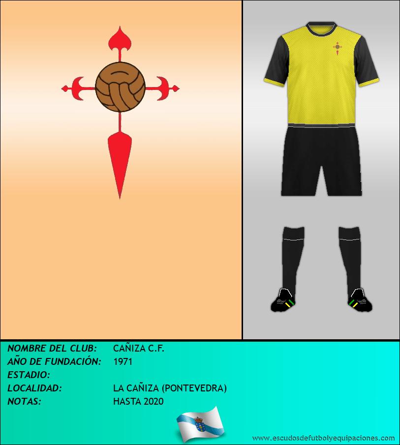 Escudo de CAÑIZA C.F.