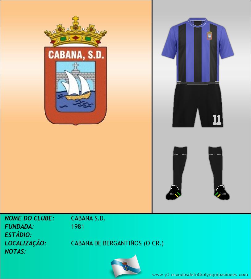 Escudo de CABANA S.D.