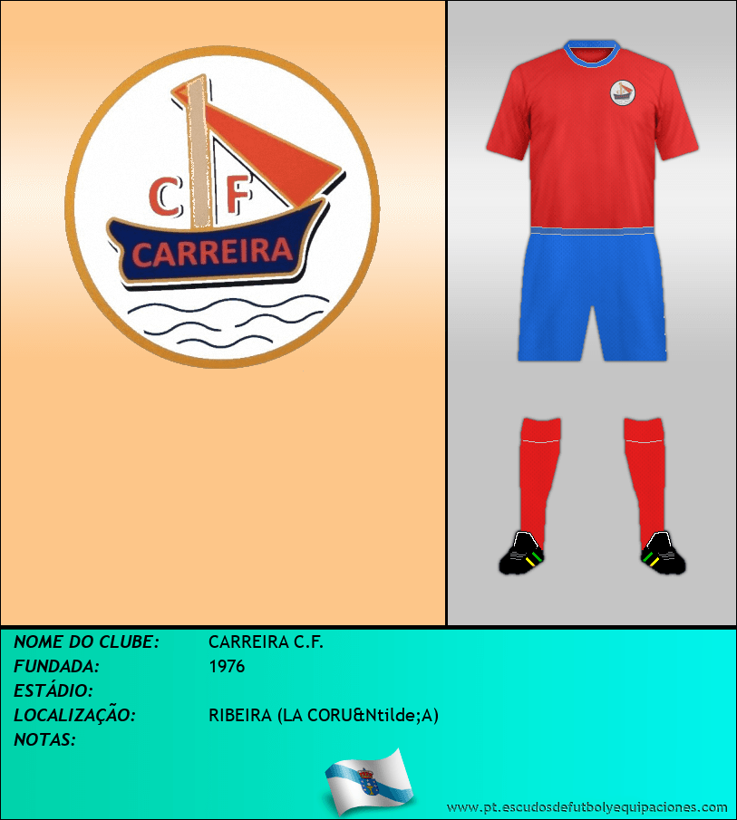 Escudo de CARREIRA C.F.