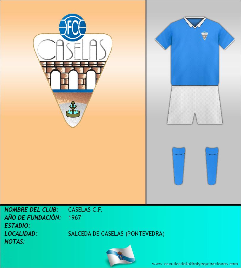 Escudo de CASELAS C.F.
