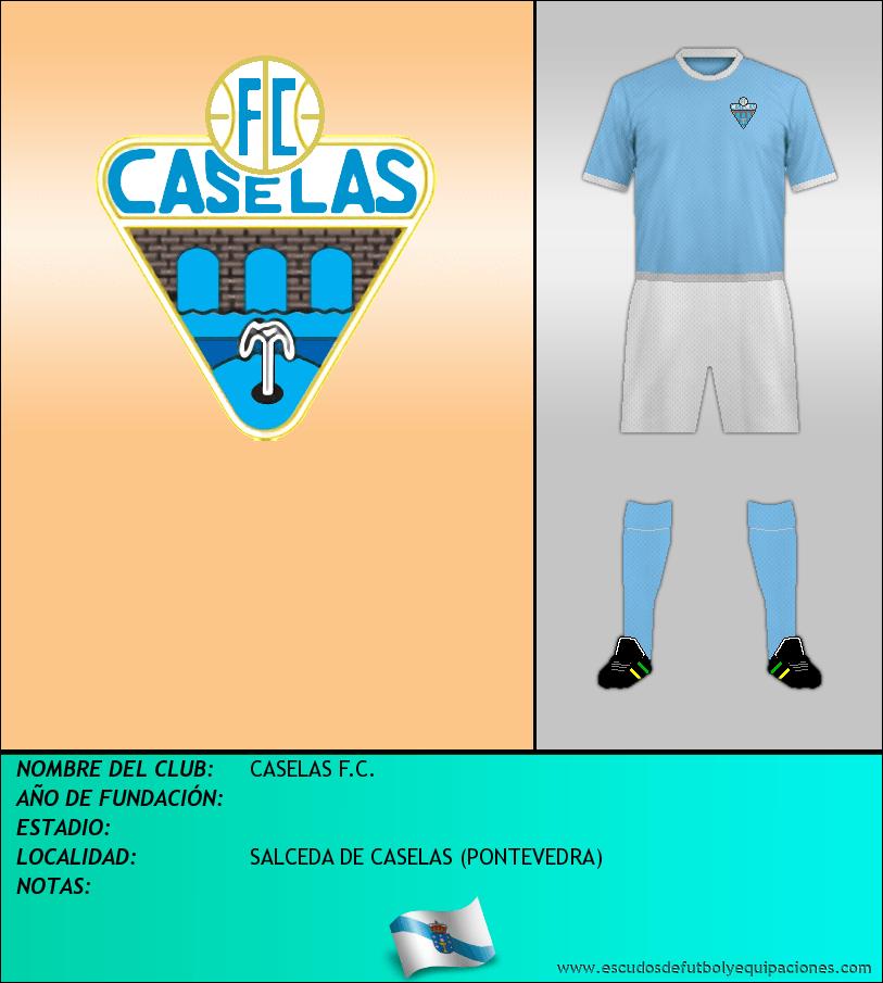 Escudo de CASELAS F.C.