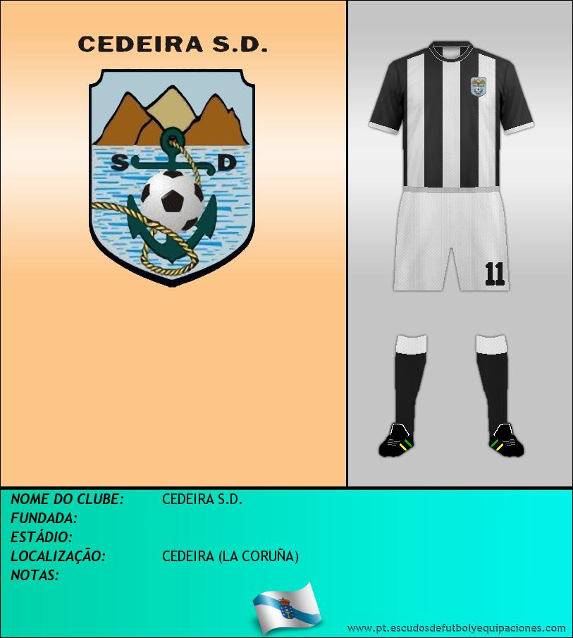Escudo de CEDEIRA S.D.