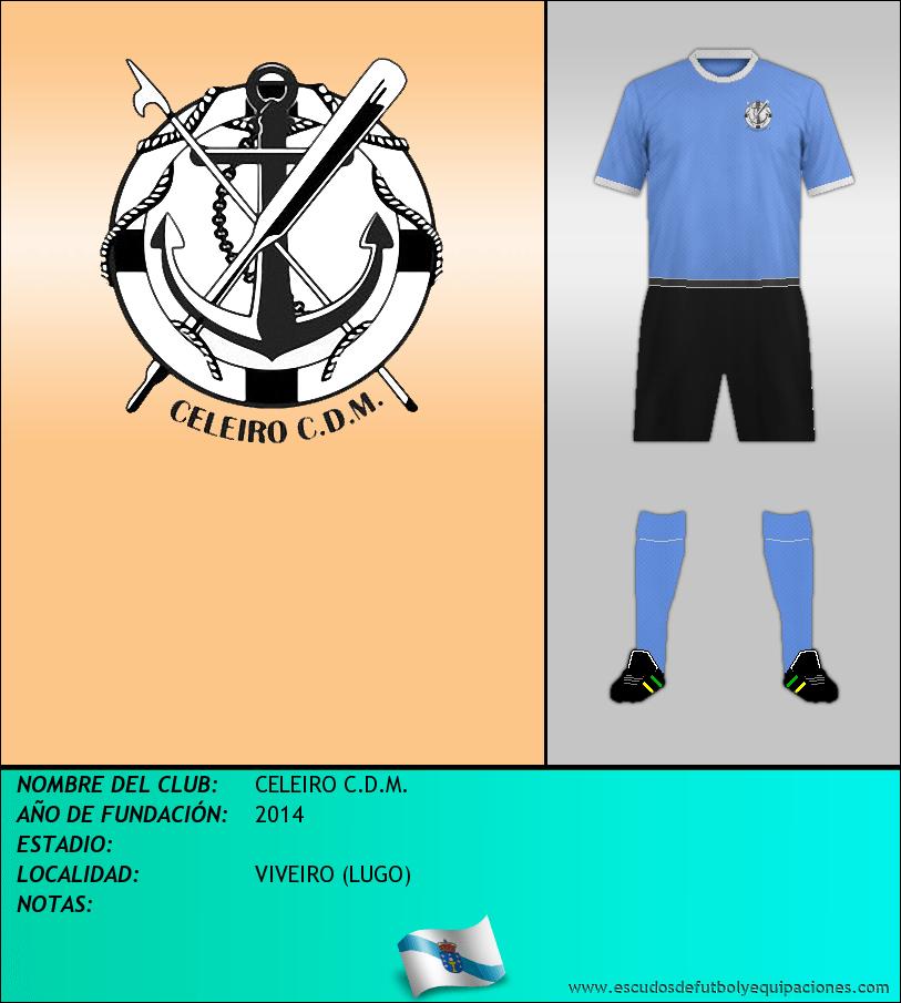 Escudo de CELEIRO C.D.M.