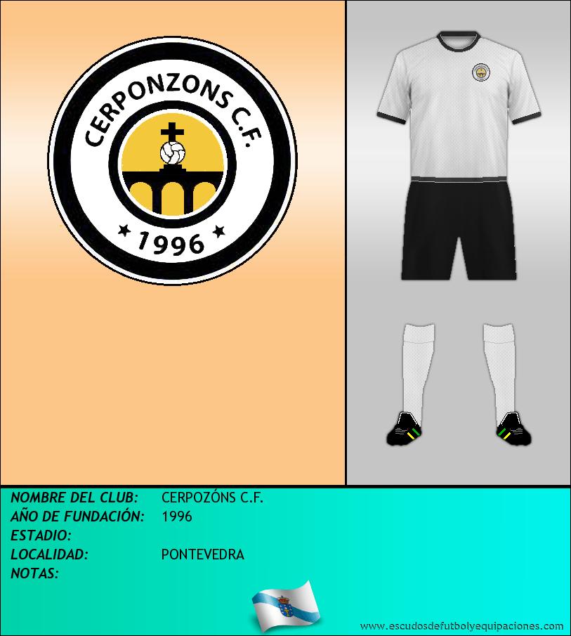 Escudo de CERPOZÓNS C.F.