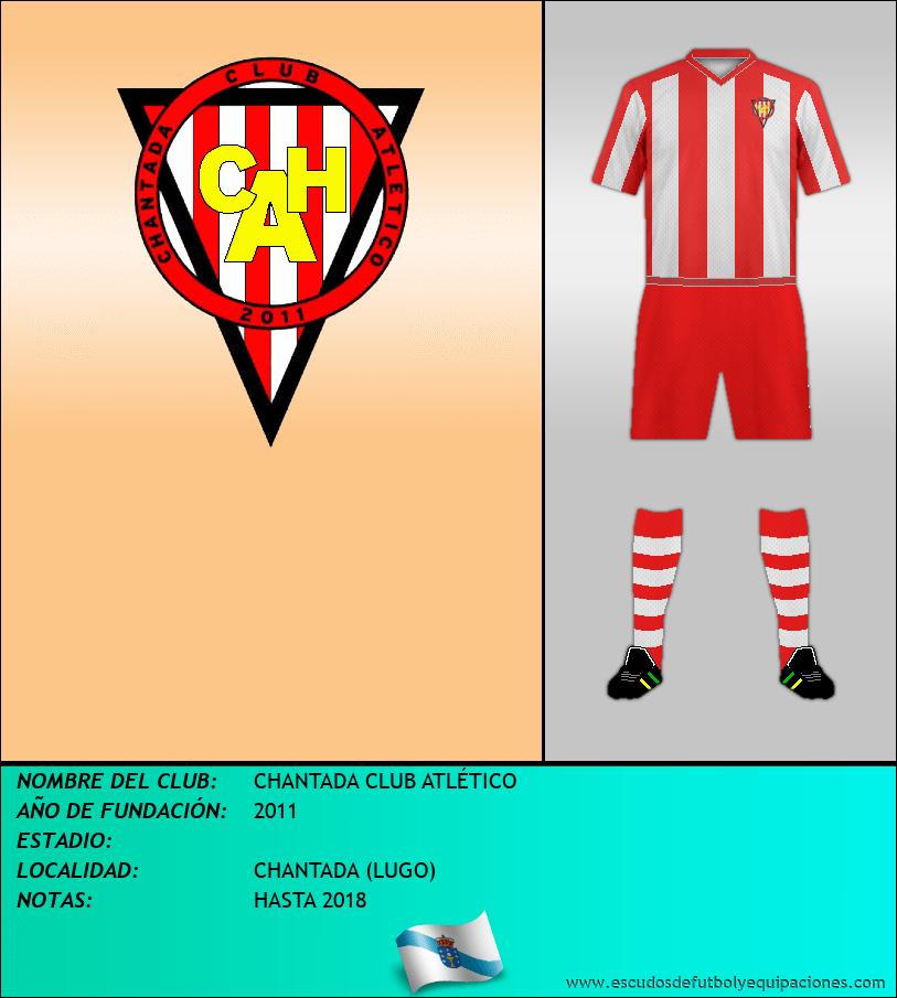 Escudo de CHANTADA CLUB ATLÉTICO
