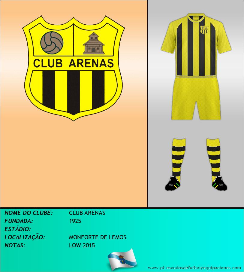 Escudo de CLUB ARENAS