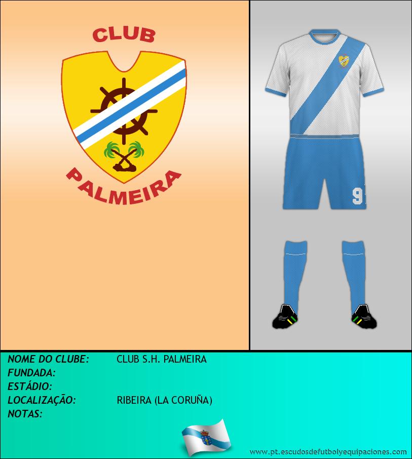 Escudo de CLUB S.H. PALMEIRA