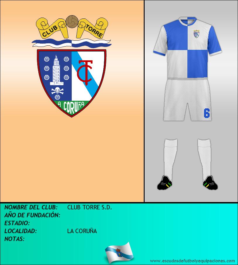 Escudo de CLUB TORRE S.D.