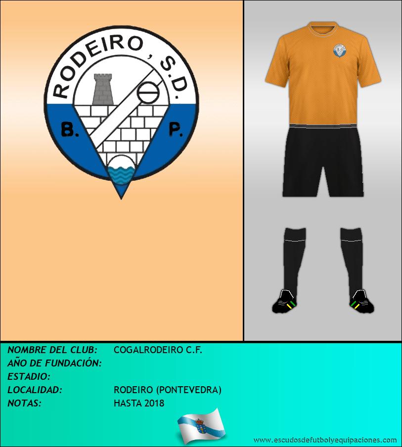 Escudo de COGALRODEIRO C.F.