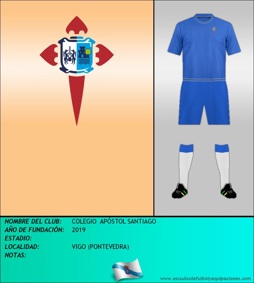 Escudo de COLEGIO  APÓSTOL SANTIAGO