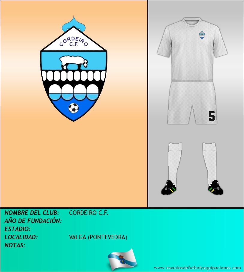 Escudo de CORDEIRO C.F.