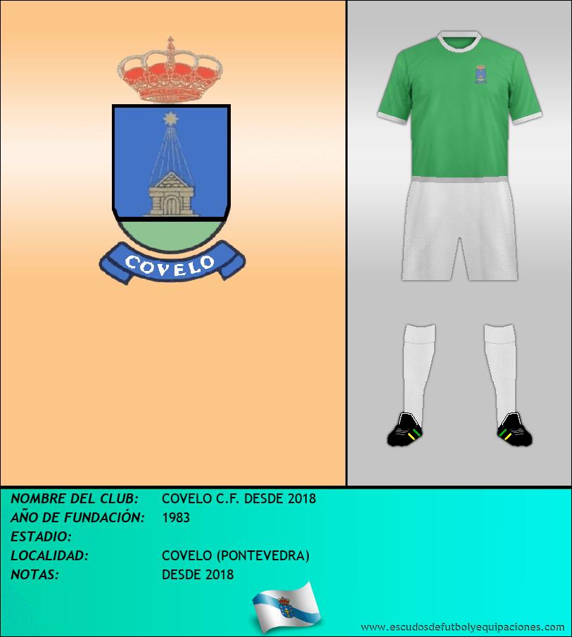Escudo de COVELO C.F. DESDE 2018