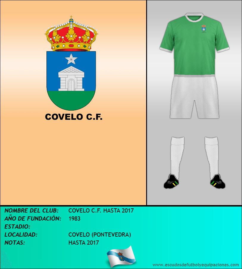 Escudo de COVELO C.F. HASTA 2017