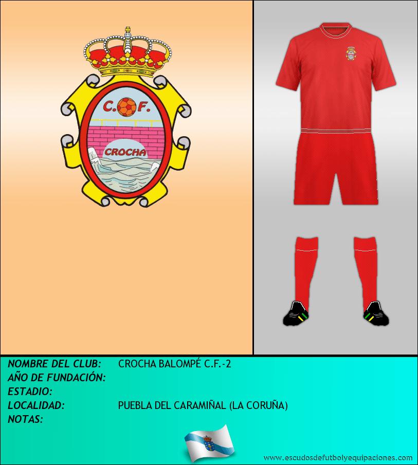 Escudo de CROCHA BALOMPÉ C.F.-2