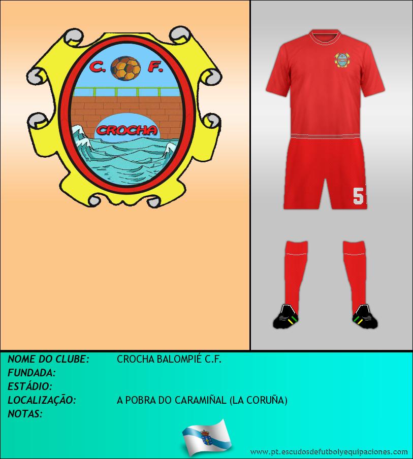 Escudo de CROCHA BALOMPIÉ C.F.