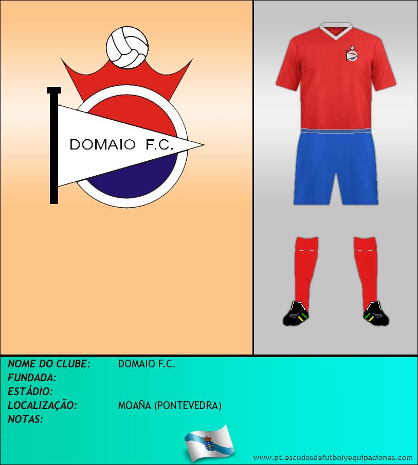 Escudo de DOMAIO F.C.