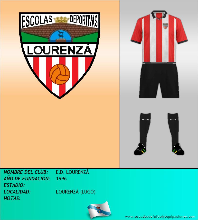 Escudo de E.D. LOURENZÁ