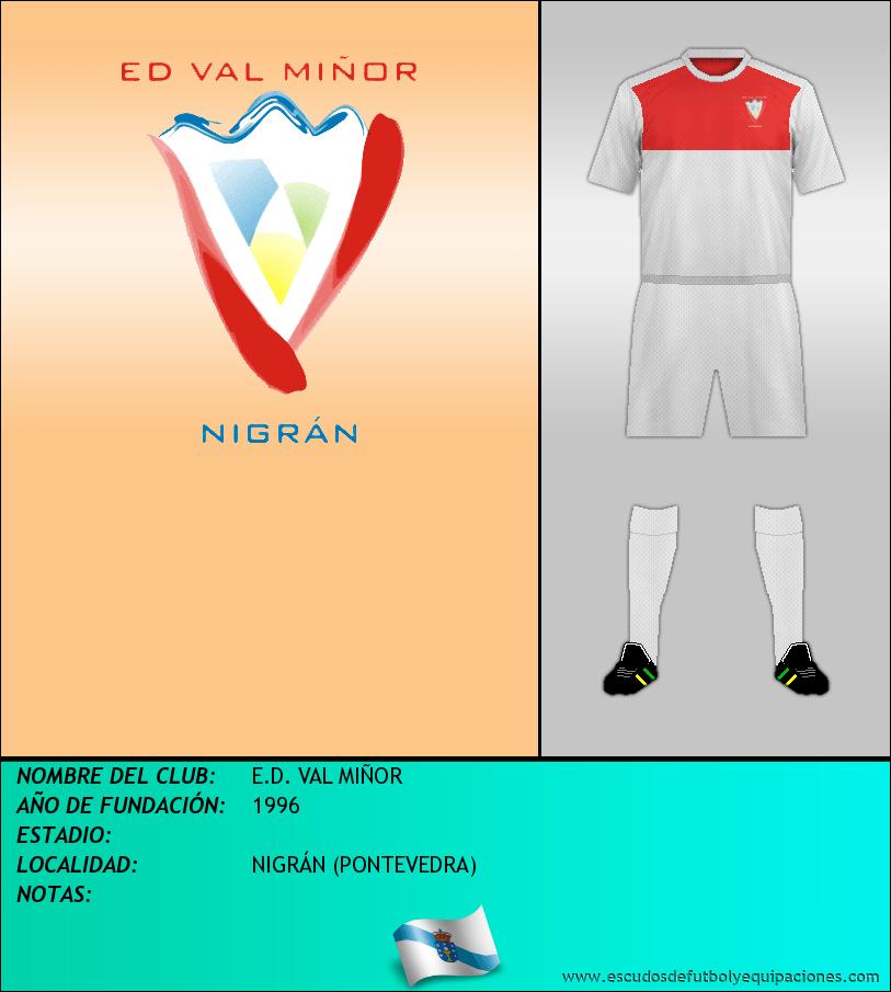 Escudo de E.D. VAL MIÑOR