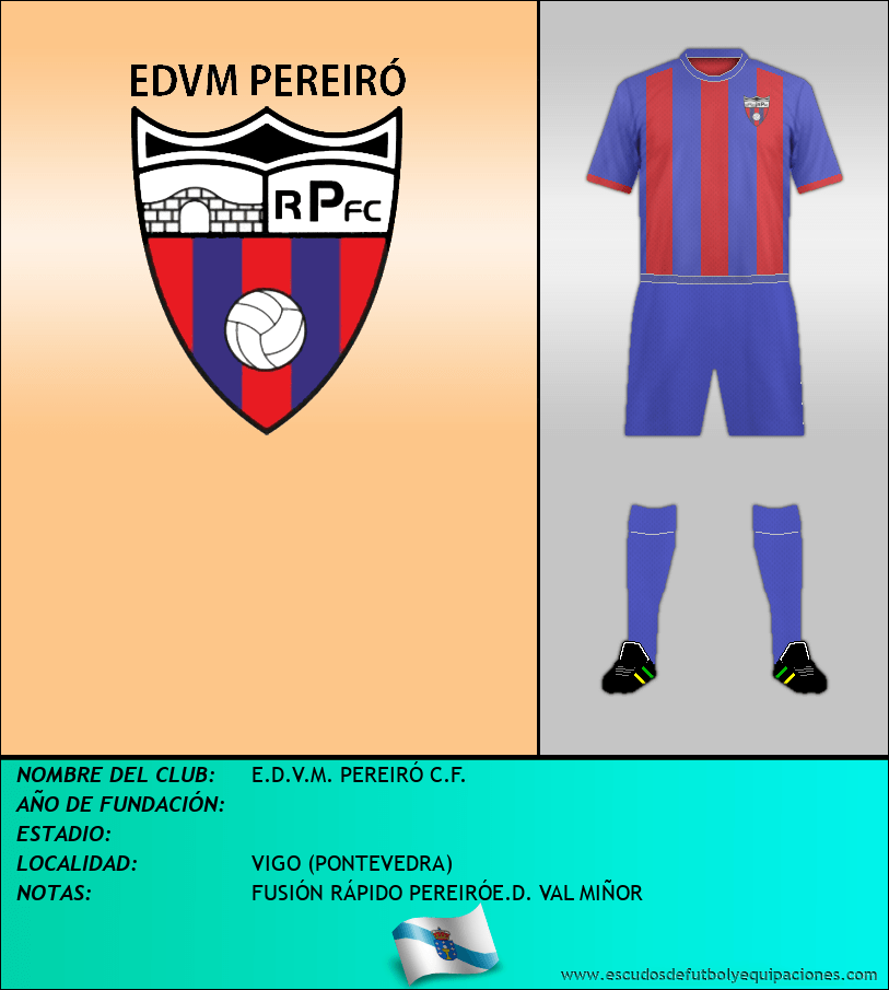 Escudo de E.D.V.M. PEREIRÓ C.F.