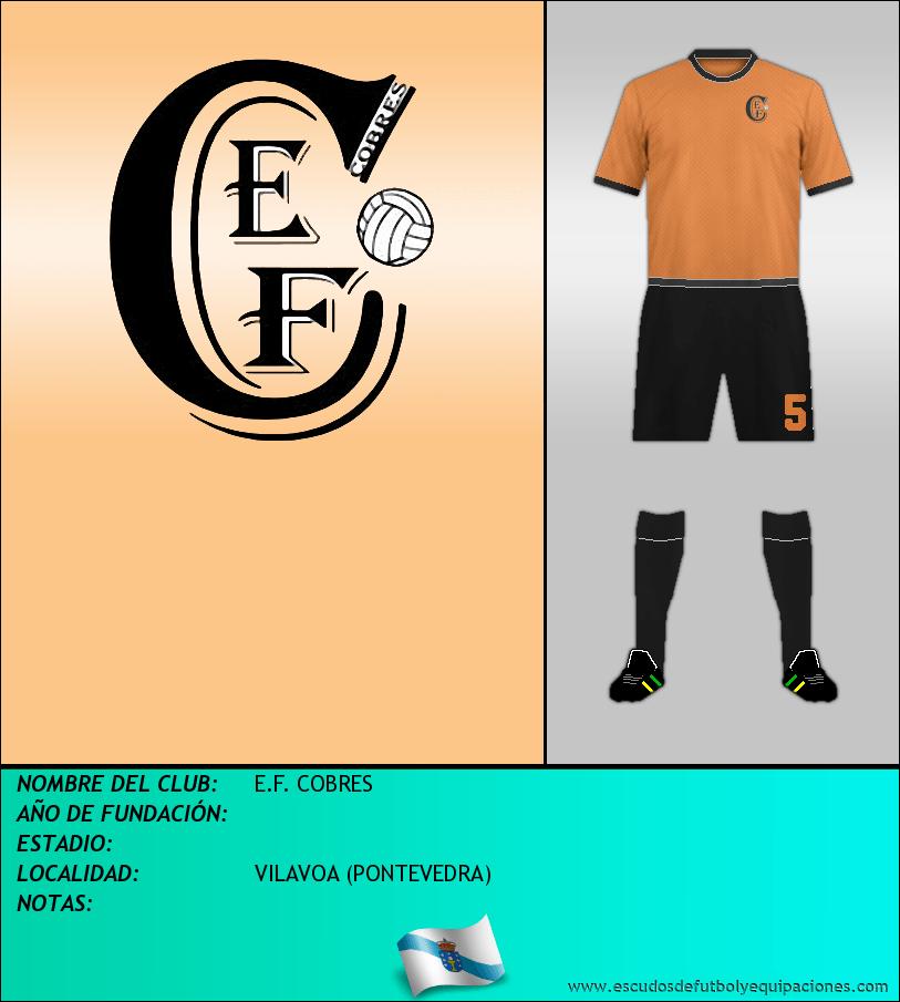 Escudo de E.F. COBRES