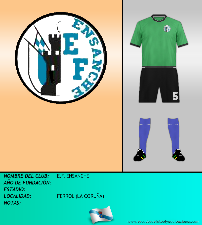 Escudo de E.F. ENSANCHE