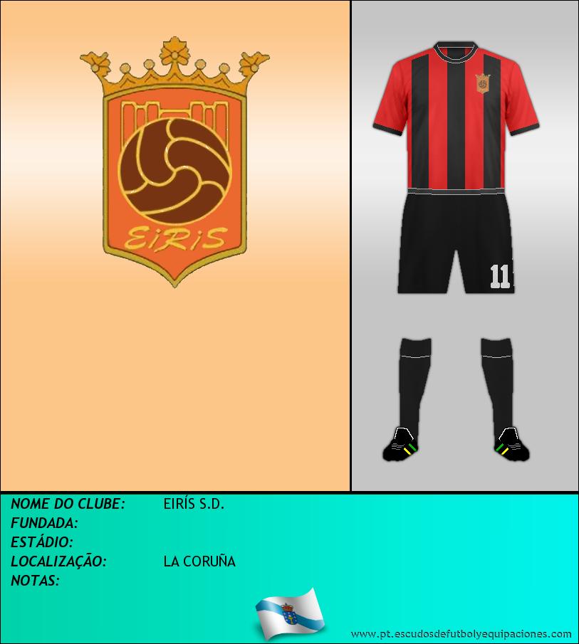 Escudo de EIRÍS S.D.