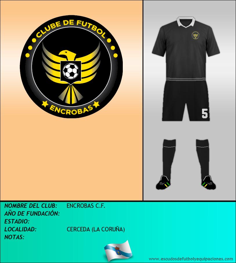Escudo de ENCROBAS C.F.