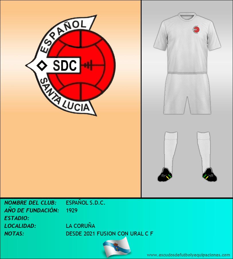 Escudo de ESPAÑOL S.D.C.