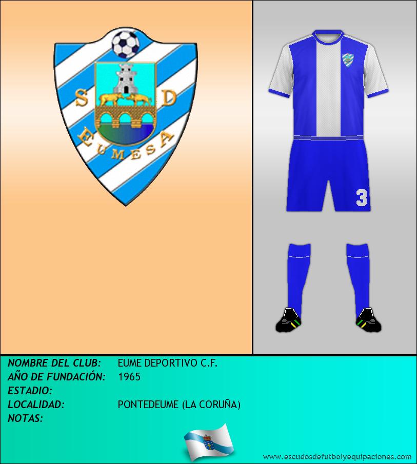 Escudo de EUME DEPORTIVO C.F.