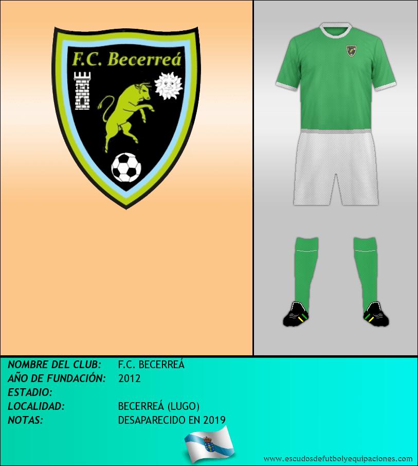 Escudo de F.C. BECERREÁ