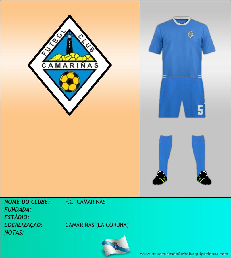 Escudo de F.C. CAMARIÑAS