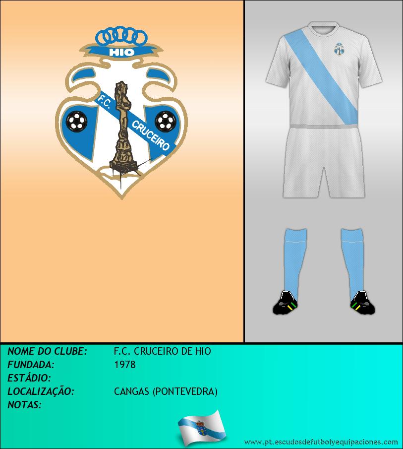 Escudo de F.C. CRUCEIRO DE HIO