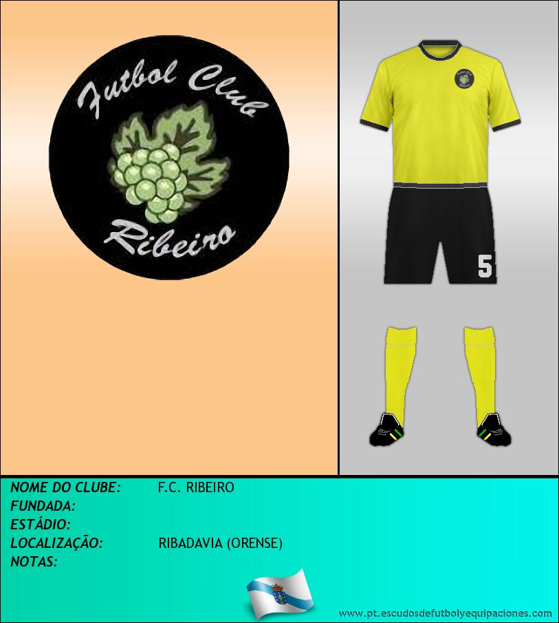 Escudo de F.C. RIBEIRO