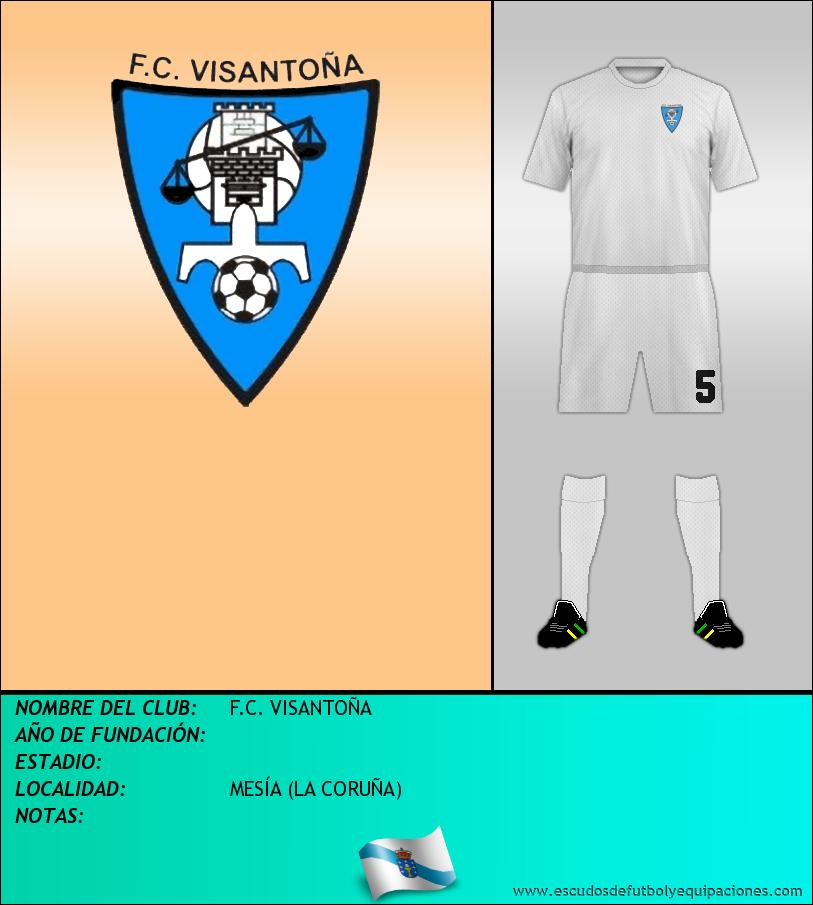 Escudo de F.C. VISANTOÑA