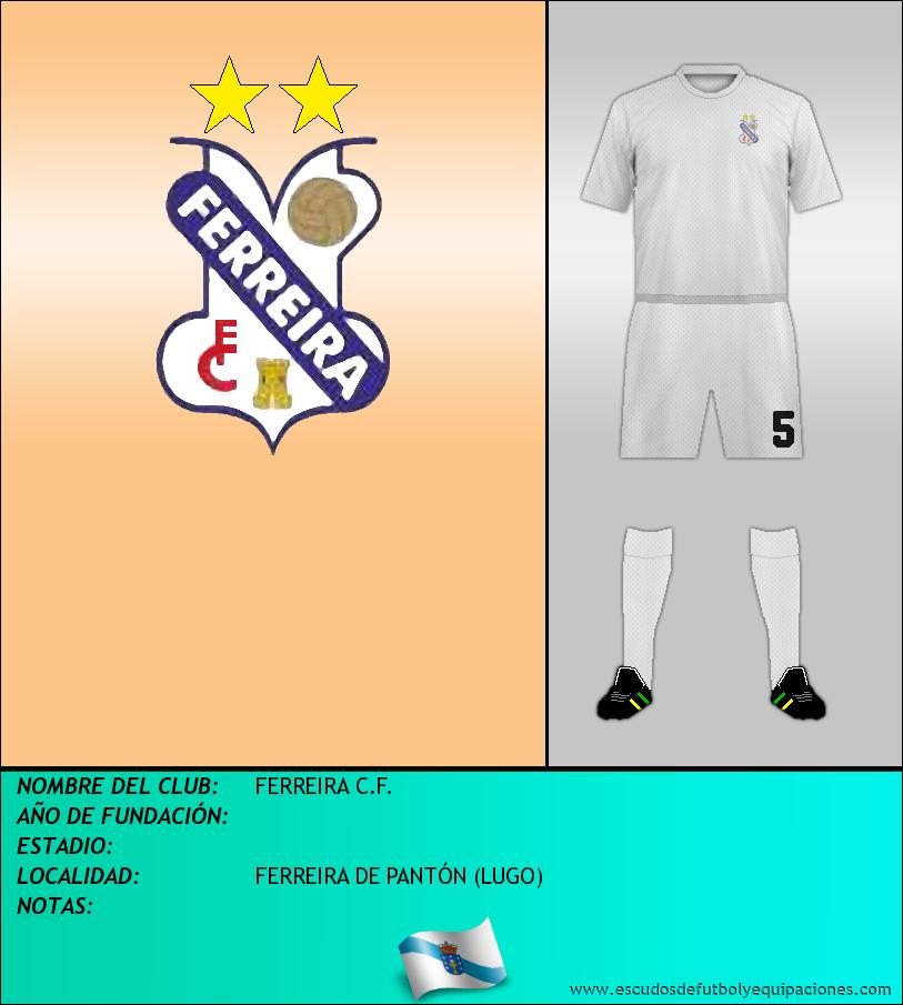 Escudo de FERREIRA C.F.