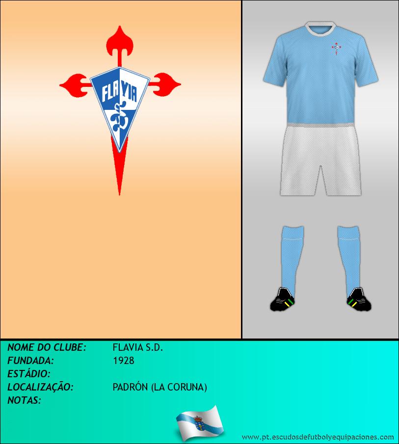 Escudo de FLAVIA S.D.