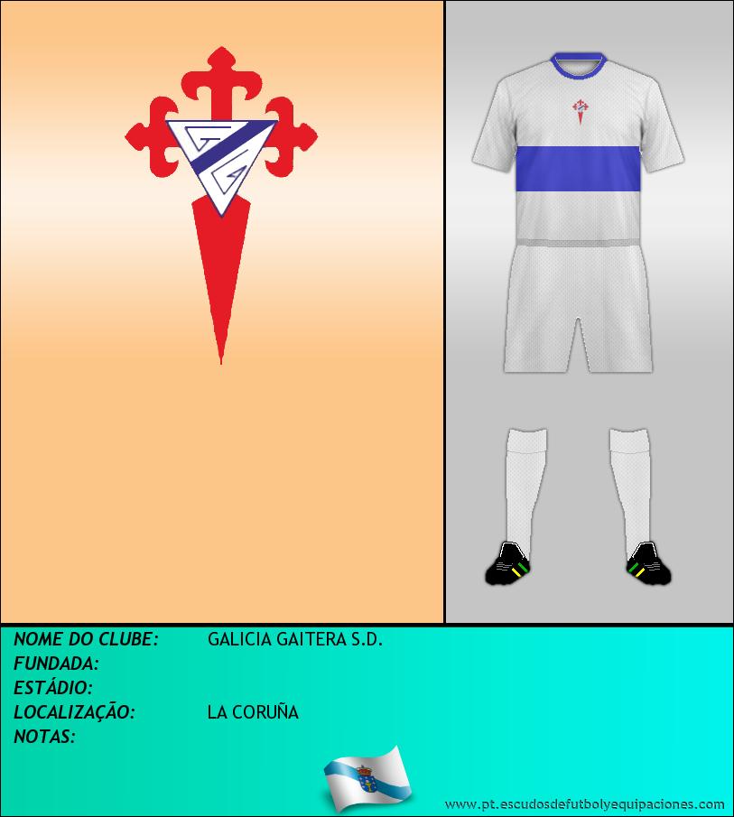 Escudo de GALICIA GAITERA S.D.