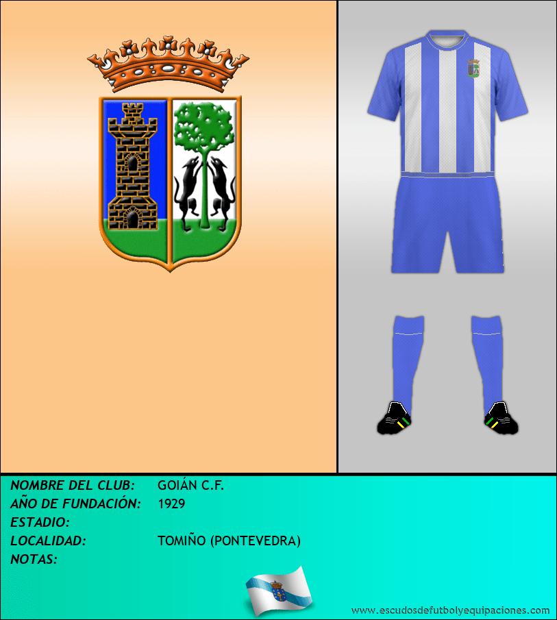 Escudo de GOIÁN C.F.
